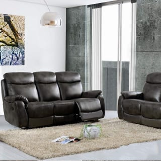 leather 3 piece sofa - Connie Leonard furniture and flooring