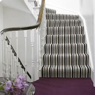 Stairs carpets - Connie Leonard furniture and flooring